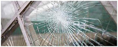 Highams Park Smashed Glass